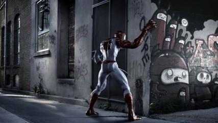 """""""Ouf ! ça fait du bien... attends Venom ! encore une petite goutte et j'arrive !"""""""