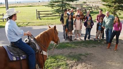 modern family dude ranch