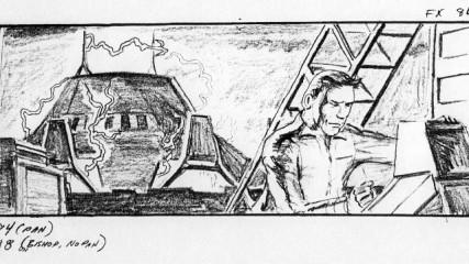 Alien, le retour storyboard