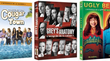 dvd grey's anatomy ugly betty cougar town