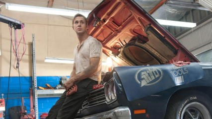 Ryan Gosling dans Drive, peut-être dans Driven ?