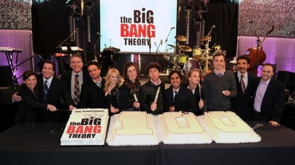 big bang theory 100th party