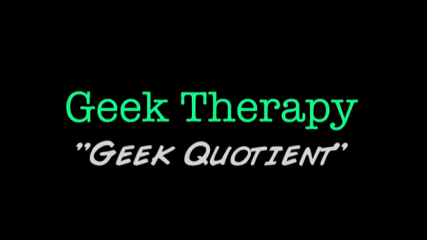 geek therapy