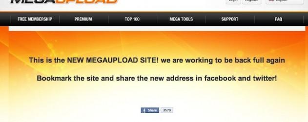megaupload  is back le retour avec un nouveau nom de domaine
