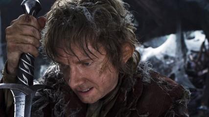 the hobbit bilbon et dard dans la montagne solitaire image promotionnelle janvier 2012