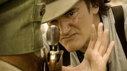 Quentin Tarantino, au coeur de Django Unchained.