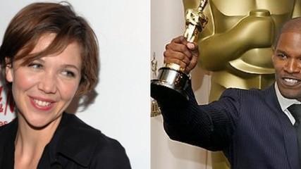 maggie gyllenhaal et jamie foxx pour white house down
