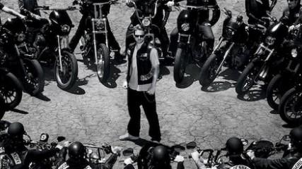 1ere affiche de la saison 5 de sons of anarchy
