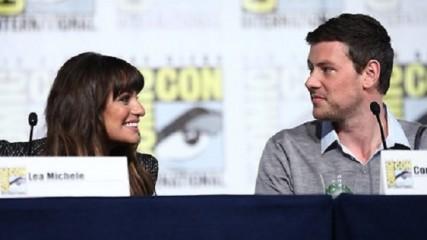Glee Panel Lea Michele Corey Monteigh