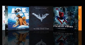 bande originale du mois the dark knight rises, l'age de glace 4 amzing spiderman hans zimmer john powell james horner