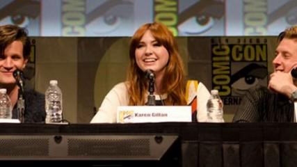 panel doctor who comic con