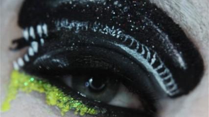 Maquillage Alien