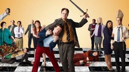 première affiche promo pour la saison 9 de The Office
