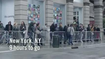 Samsung se moque d'Apple