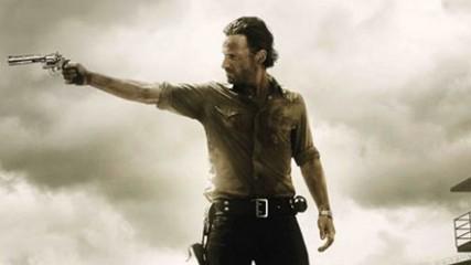 affiche officielle pour la saison 3 de The Walking Dead