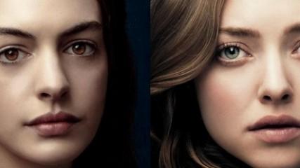 affiche de Les Misérables avec Amanda Seyfried et Anne Hathaway