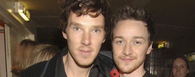 james mcavoy et benedict cumberbatch dans le biopic de julian assange