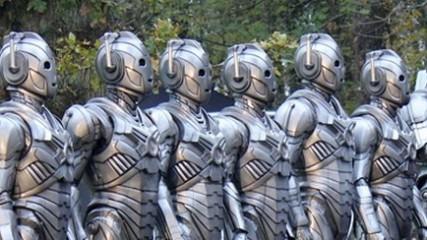 nouveau look pour les cybermen dans la saison 7 de Doctor Who