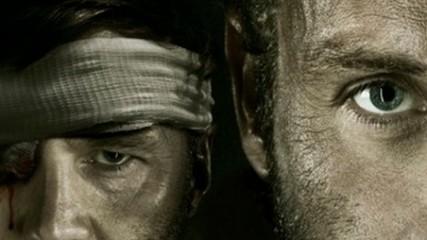Oeil pour oeil l'affiche de la fin de la saison 3 de The Walking Dead