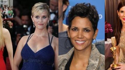 oscars Halle Berry, Sandra Bullock, Nicole Kidman et Reese Witherspoon