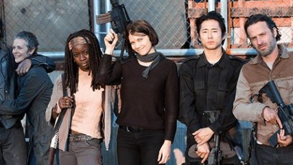 The Walking Dead photo des coulisses du final de la saison 3