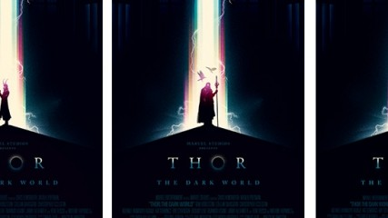 Thor special poster Une