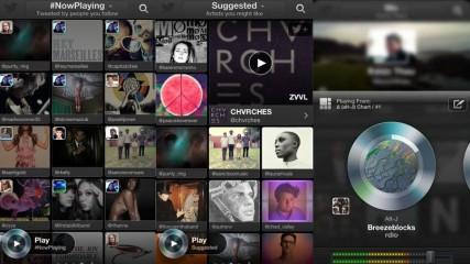 appli musique twitter