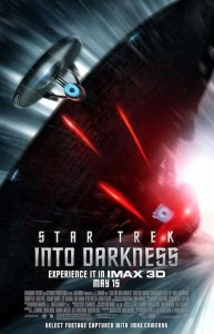 Affiche IMAX pour Star Trek Into Darkness