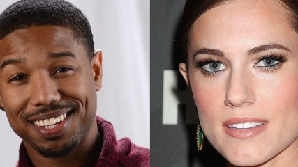 michael b jordan et allison williams en discussion pour le reboot des quatre fantastiques