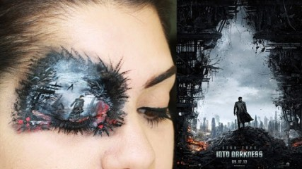 star-trek-affiche-maquillage-oeil