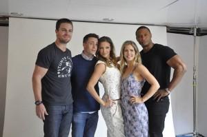 Arrow au Comic Con 2013