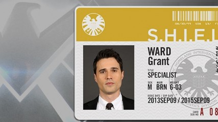 Agent Grant Ward Agents of Shield