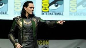 Loki prend en otage Comic Con San Diego