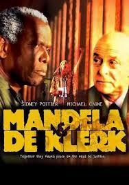Mandela et De Klerk affiche