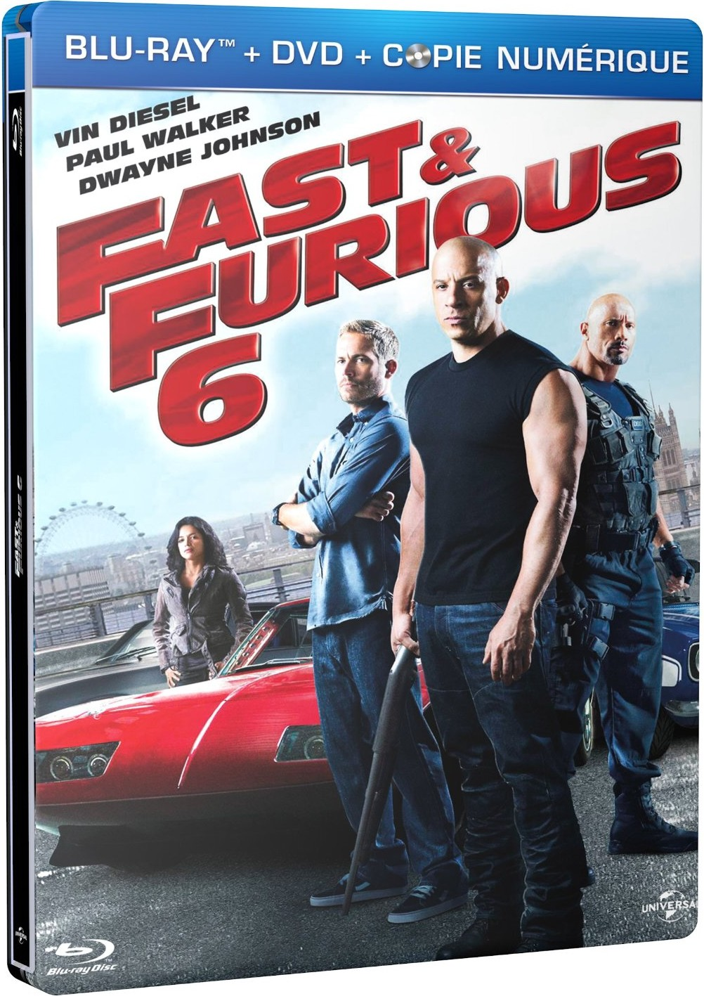 fast and furious 6 sortie blu ray et dvd le 24 septembre brain damaged. Black Bedroom Furniture Sets. Home Design Ideas