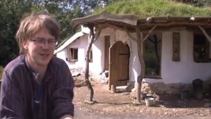 maison hobbit en danger