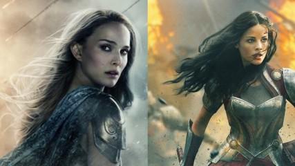 Thor le monde des tenebres Syf et Jane en affiche