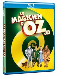 Visuel dvd le magicien d'oz 3D