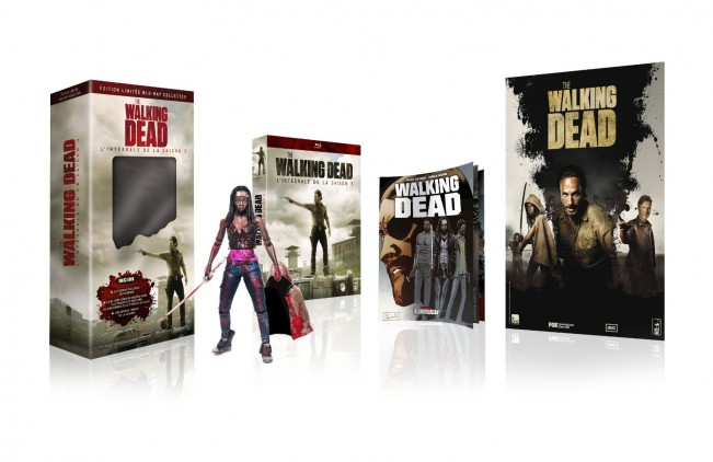 Blu Ray The Walking Dead Saison 3 Edition Collector