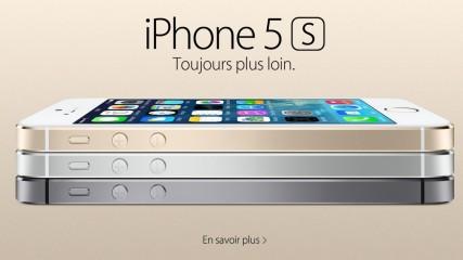 iPhone 5S présentation