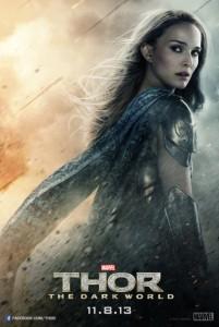 Thor le monde des ténèbres : Sif et Jane en affiche