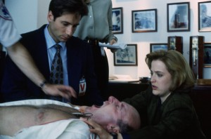 The X-Files image David Duchovny and Gillian Anderson (1)