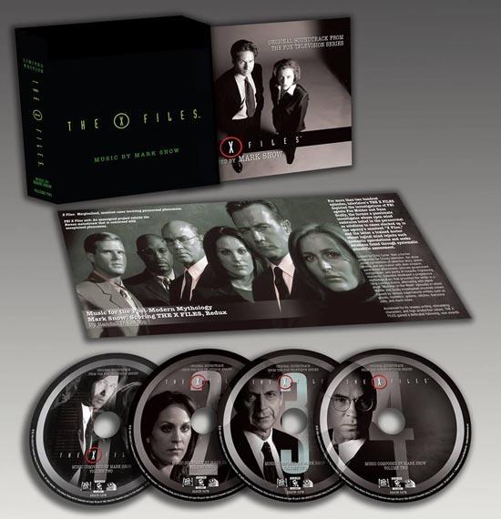 x files coffret bande originale volume 2