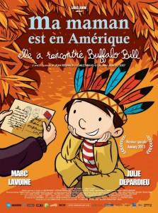 Sorties Cinéma du 23 octobre 2013 - affiche Ma Maman est en Amérique...
