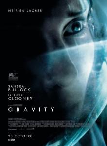 Sorties Cinéma du 23 octobre 2013 - affiche Gravity