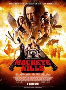 Sorties Cinéma du 02 Octobre 2013 - Machete Kills Affiche