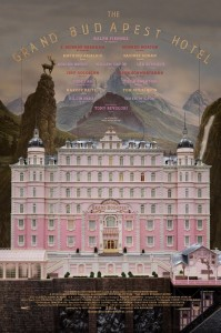 The Grand Budapest Hotel affiche