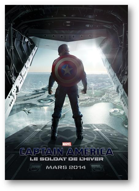 Captain America Le soldat de l'hiver : Première affiche