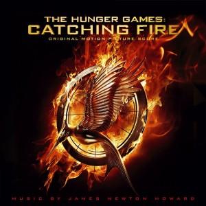 Hunger Games l'Embrasement détails d score et affiche iMax couverture de l'album.