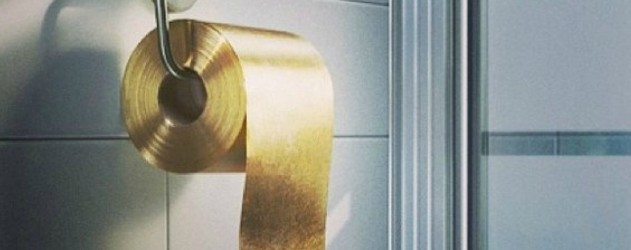 le papier toilette en or brain damaged